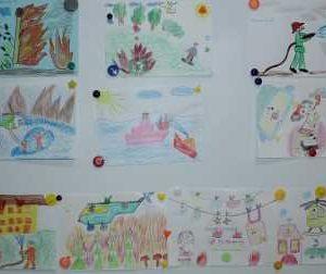 Выставка детских рисунков 1