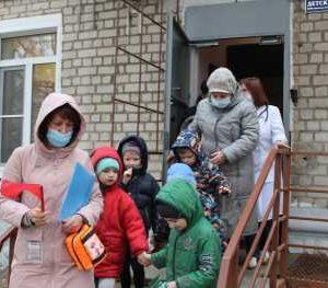 Тренировочная эвакуация. Выход из учреждения